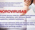 Jūrininkų sveikatos priežiūros centras paveikslėlis apibūdinantis norovirusą