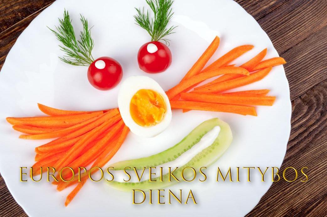Lapkričio 8 d. – Europos sveikos mitybos diena