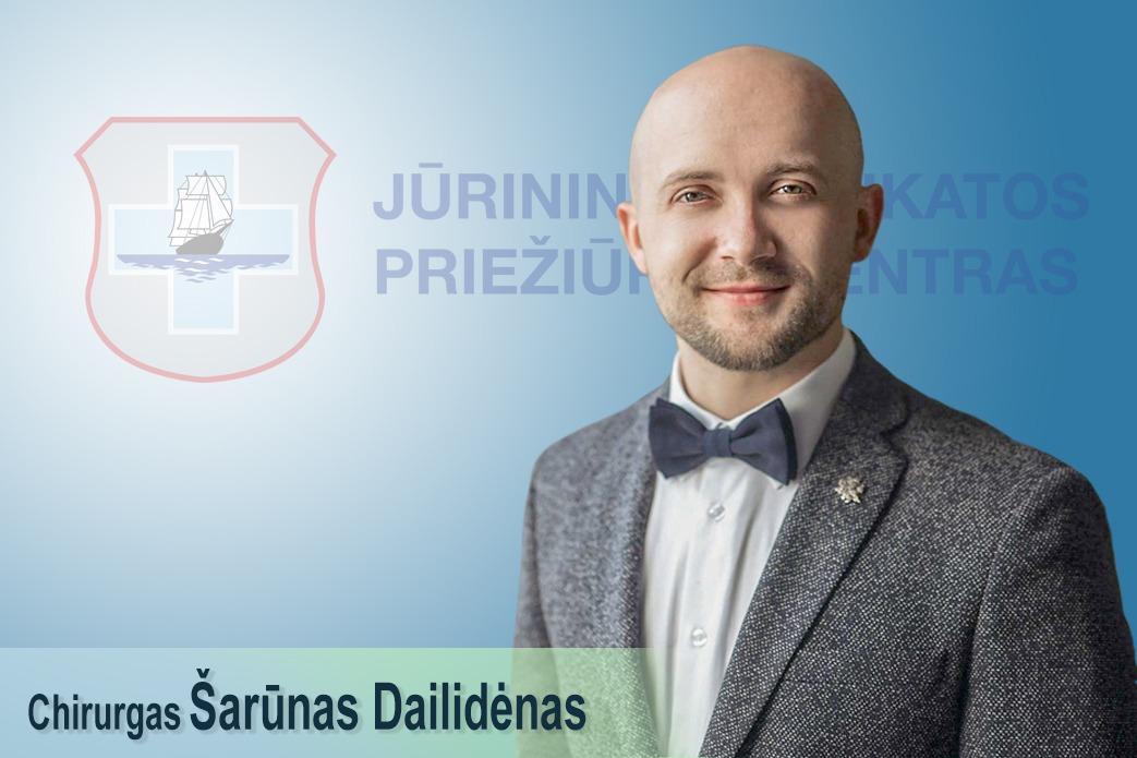 Naujas komandos narys – gydytojas chirurgas Šarūnas Dailidėnas!