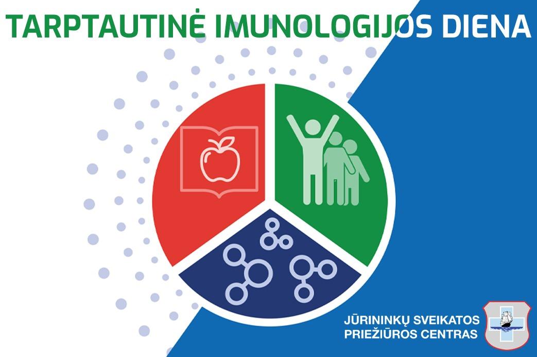 Balandžio 29 diena pasaulyje minima Tarptautinė imunologijos diena