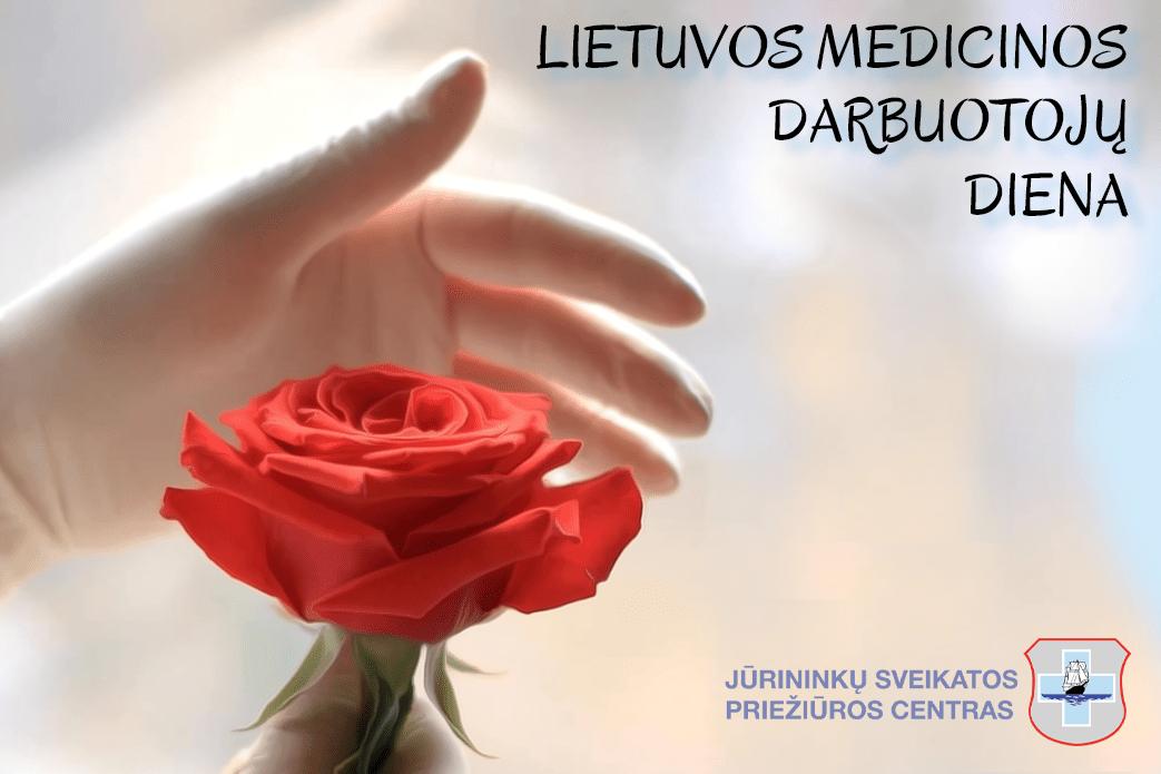 Sveikinimas Lietuvos medikų dienos proga
