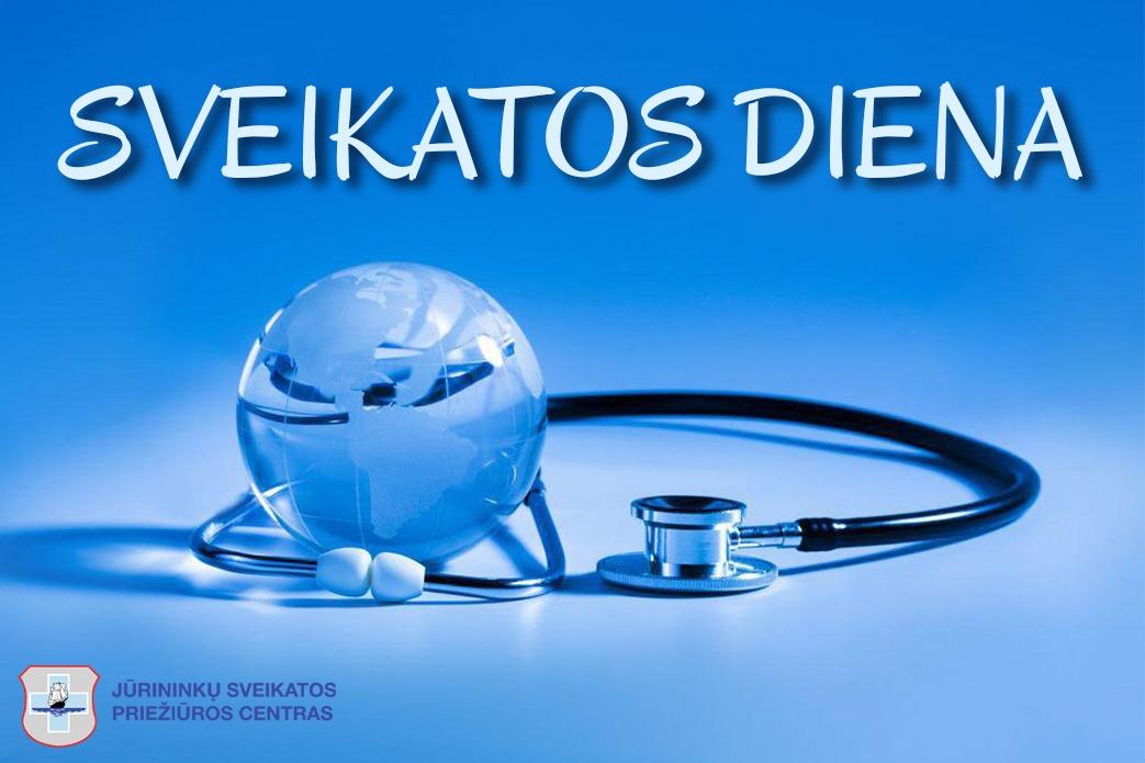 Balandžio 7-ąją pasaulyje minima Pasaulinė sveikatos diena