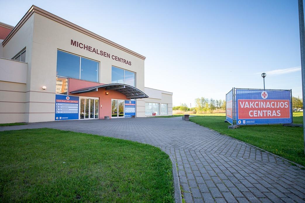 Klaipėdoje atidarytas naujas vakcinavimo centras