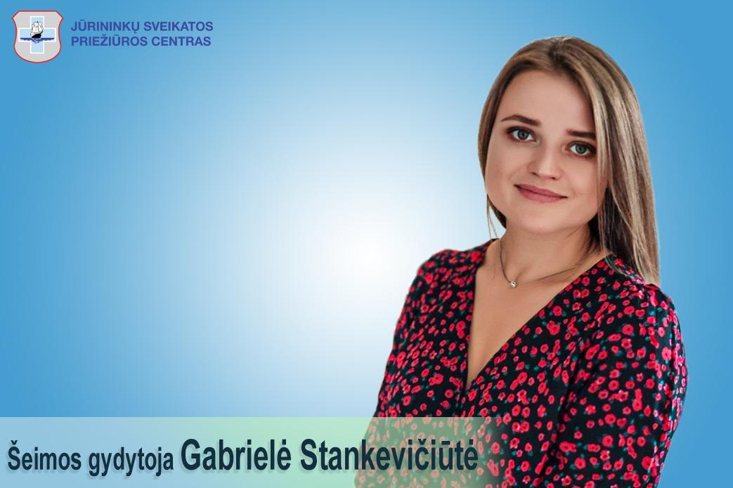Nauja komandos narė – šeimos gydytoja Gabrielė Stankevičiūtė!