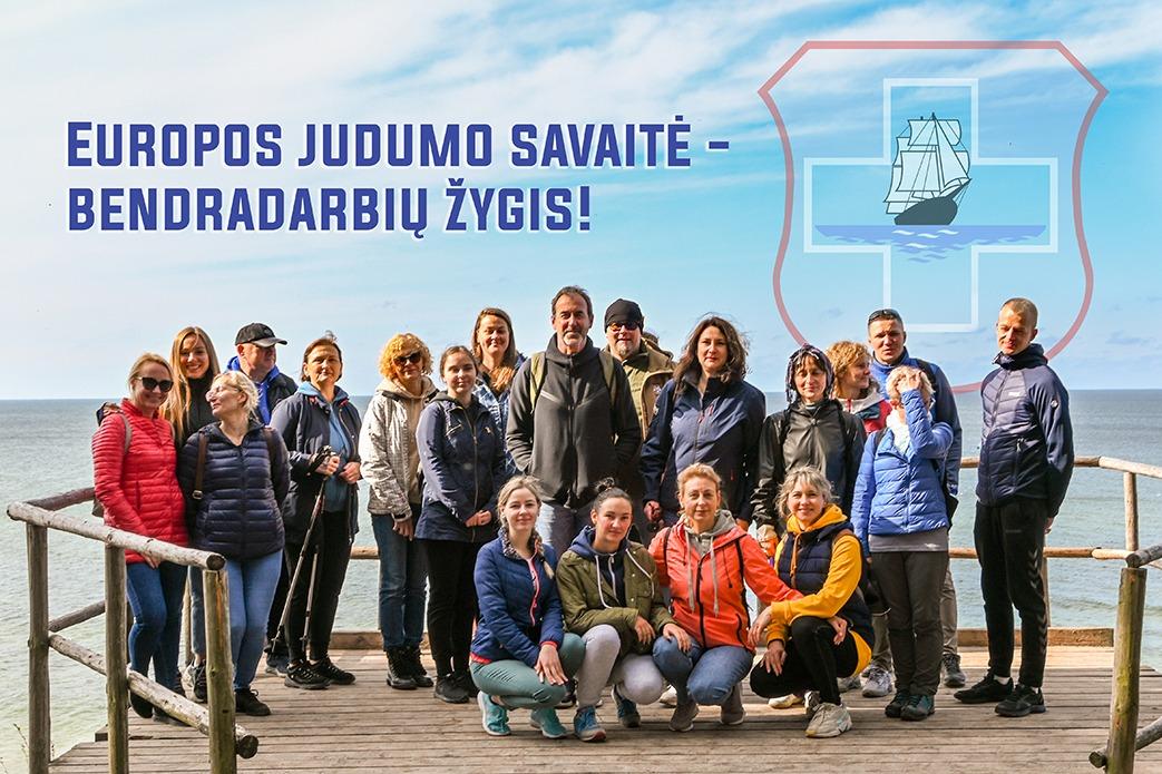 Europos judumo savaitė – bendradarbių žygis!