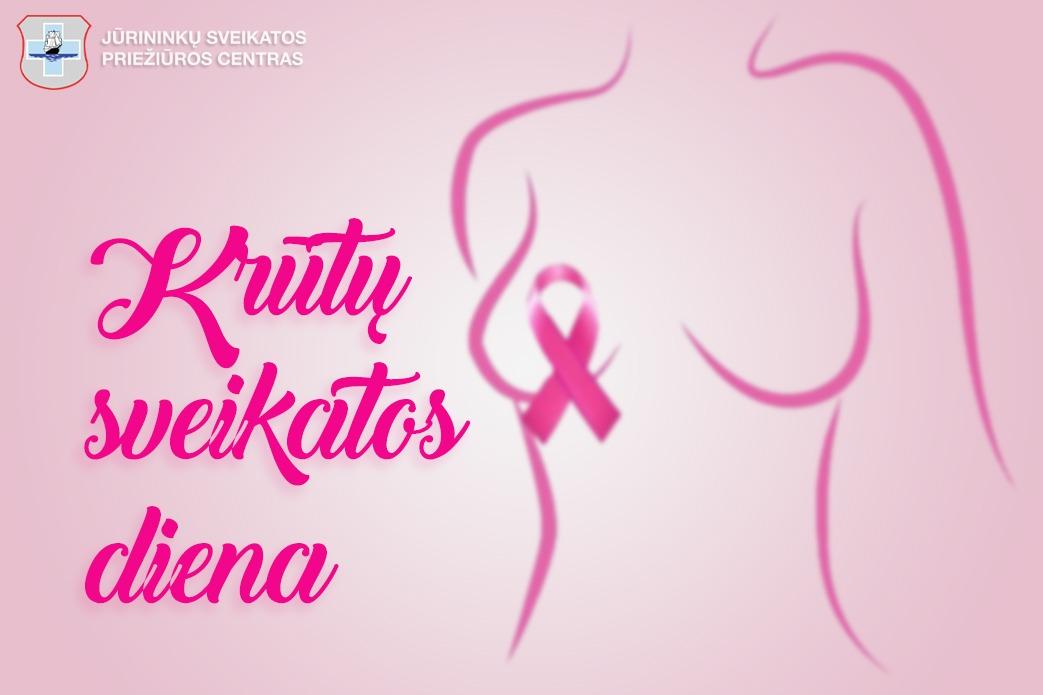 Spalio 15-oji Krūtų sveikatos diena